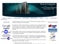 Becquet Enterprises Home Page