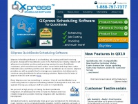QXpress QuickBooks Scheduling Software - QXpress