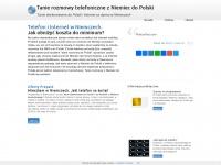 ⨂⨂⨂ TANIE ROZMOWY Z NIEMIEC DO POLSKI | Tanie numery z Niemiec do Polski  | Tanie po³¹czenia na komórkê