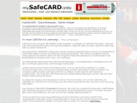 mysafecard.info Thumbnail