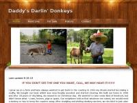daddysdarlindonkeys.com