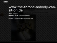 the-throne-nobody-can-sit-on.de