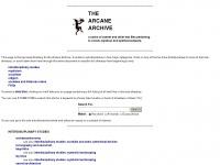 arcane-archive.org