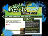 adambeckshowpigs.com