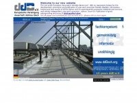 European assiciation durably sealed roof - Internet main gate for roofs, sealings, flat roof and rooftop planting,