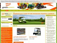 Green Mowers. Venta de Maquinaria para Campos de Golf, Instalaciones Deportivas, Jardinería