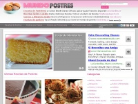 Mundopostres.com - Recetas de Postres, Pasteles y Reposteria del Mundo