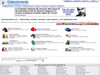 Coleccionando.com - colecciones, ventas, compras, intercambios, y mil clasificados más