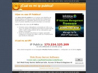 Cual-es-mi-ip-publica.com - ¿Cual es mi IP Publica?