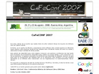 cafeconf.org