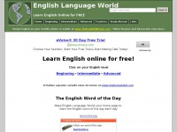 Learn English Online - English Language World
