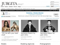 Modeling and Fashion magazine JURGITA