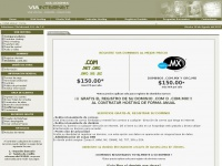 Hosting en Mexico - Dominios .com