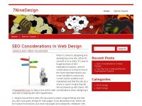 7ninedesign.co.uk Thumbnail