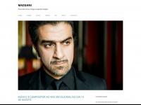 MAZGANI | The online home of singer-songwriter Mazgani