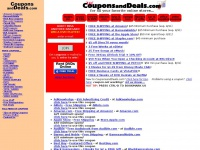 CouponsandDeals.com for Amazon.com Coupons, Netflix, Buy.com Coupons