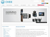 OVIDE - Rent of cameras and equipments for digital cinema and broadcast tv