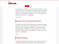 Ejemplode.com - Ejemplo de