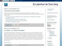 En plenitud de Dios blog