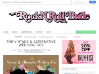 Rock n Roll Bride · Killer Style, Crazy Love · Alternative Wedding Inspiration