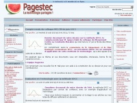 Index - Pagestec, la Technologie partagée