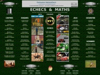 Echecsetmaths.com - Echecs & Maths, mathématique ludique : echecs, logique, enigmes, nombres, calcul, geometrie, jeux mathématiques, jeux flash gratuits, chiffres, puzzles