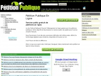 petitionpublique.fr Thumbnail