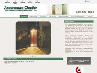 ascenseurscloutier.com