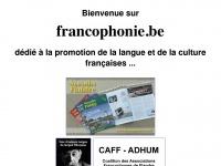 francophonie.be