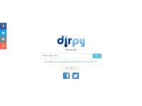 Dirpy.com - Dirpy - Internet DVR - YouTube to MP3 Converter and Video Downloader