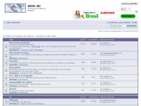 ADSL-BC • Page d'index