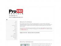 prohdrentals.com