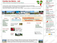 Cambo les bains, site non officiel, Pays Basque, cure thermale
