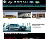 Groupe RYV : automobiles neuves BMW MINI FORD LAND ROVER MAZDA voitures occasions Normandie
