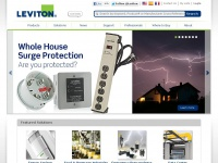 Electrical devices, lighting controls, network solutions: Leviton.com