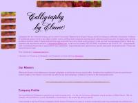 calligraphybyelaine.com