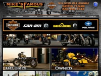 Harley-Davidson|New  & Used Motorcycles|Can-Am|Polaris|Sea-Doo|Mike's Famous CT & RI