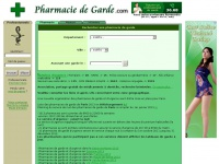pharmaciesdegarde.com