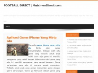 Match-EnDirect.com : Score des matchs en direct et résultats foot