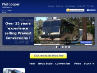 Philcooper.com - Phil Cooper | Selling Prevost and MCI bus conversions for over 25 years