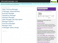 informaticmanager.com - Registered at Namecheap.com