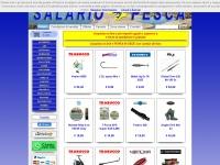 SALARIO PESCA s.r.l. Negozio Pesca online Roma