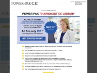 Powerpak.com - POWER-PAK C.E Continuing Education for Pharmacists and Pharmacy Technicians