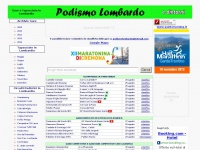 Podismolombardo.it - Podismo Lombardo - Gare e Tapasciate in Lombardia e dintorni