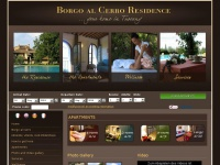 Borgo al Cerro: vacation and holiday apartments for rent near Siena, Tuscany