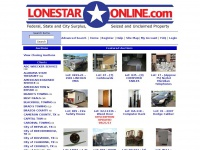 LoneStarOnline.com - Fleet Surplus, Seized and Unclaimed Property