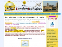 taxi a Londra: london transfers