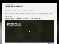 cinematique-instruments.com