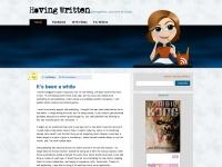 havingwritten.com