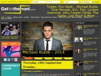 GetToTheFront | Tour Date & Ticket Online Magazine